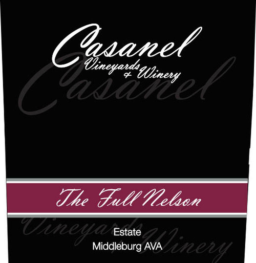 'The Full Nelson' Port -  Casanel Vineyards + Winery