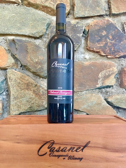Cabernet Sauvignon, 2016  -  Casanel Vineyards + Winery