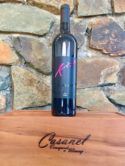 K2 Red Blend, 2016  -  Casanel Vineyards + Winery