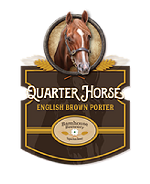 Bourbon Barrel-Aged Quarter Horse Porter - Barnhouse Brewery