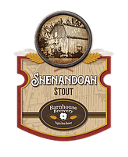 Rye Whiskey Barrel-Aged Shenandoah Stout - Barnhouse Brewery