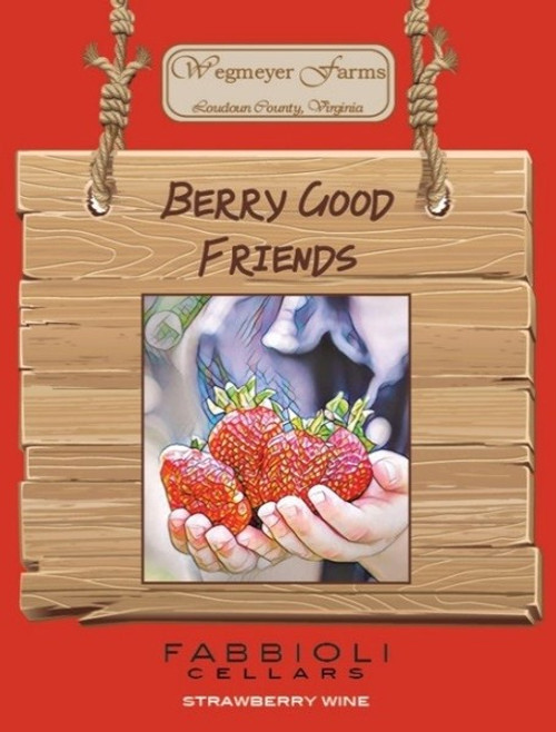 (Straw)Berry Good Friends - Fabbioli Cellars