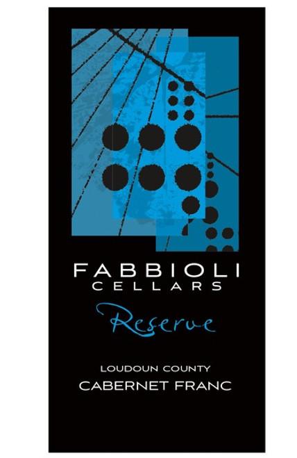 Cabernet Franc Reserve, 2016 - Fabbioli Cellars