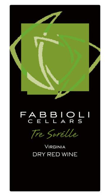 Tre Sorelle, 2015 - Fabbioli Cellars