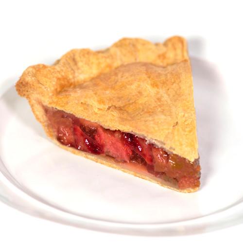 Mom's in Occoquan - Strawberry Rhubarb Pie
