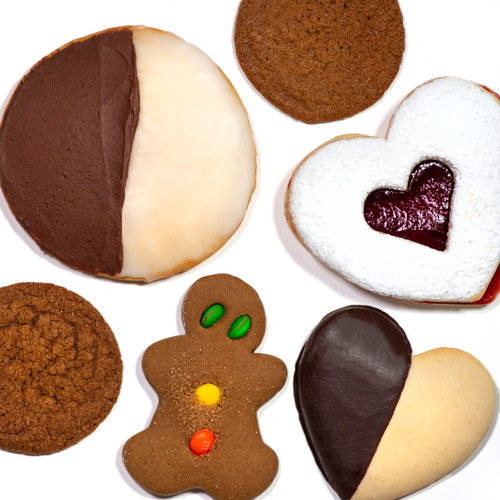 Mom's in Occoquan - Heart Cookie