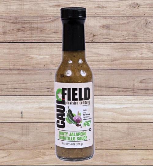 Minty Jalapeno Tomatillo Sauce - Caulfield Cooking Sauces