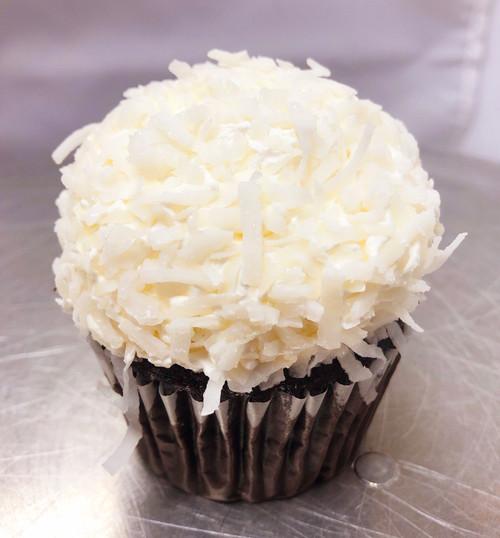 Gluten Free Chocolate Coconut Cupcake - Sweetz