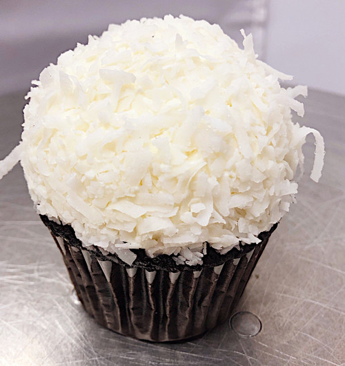 Vegan Chocolate Coconut Cupcake - Sweetz Bakery