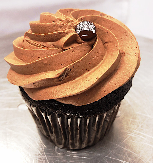Vegan Double Chocolate Cupcake - Sweetz Bakery