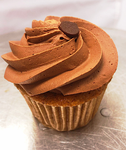 Vegan Yellow Chocolate Cupcake - Sweetz Bakery
