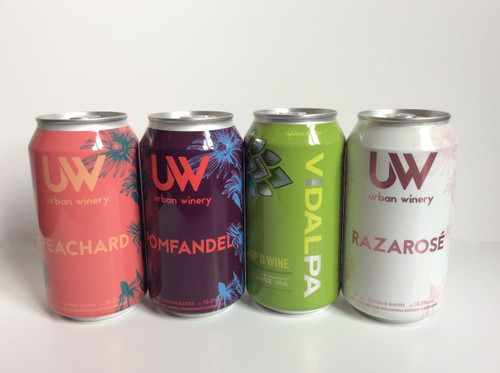 Pack and Go Sampler 4-Pack - Urban Winery