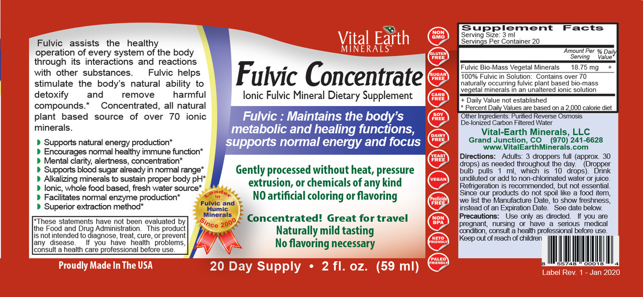 Fulvic Concentrate