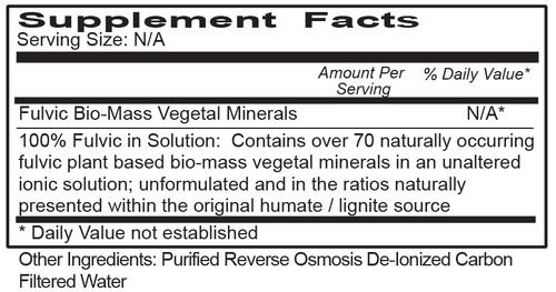 Fulvic Mineral Mist