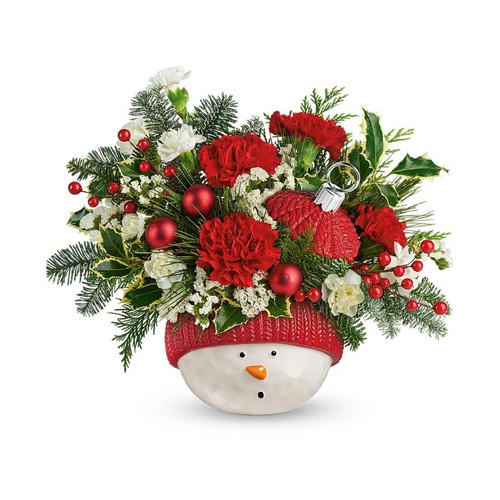 Winter Fun Ornament Bouquet