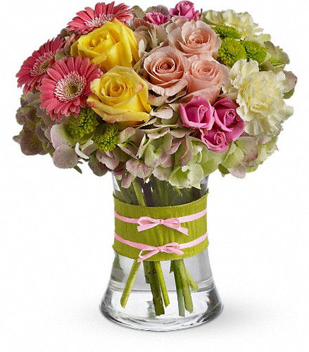 This arrangement would be perfect for any girl with an eye for style. It's a must-have for fashionistas everywhere.