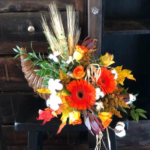 Send the Rustic Thanksgiving Cornucopia