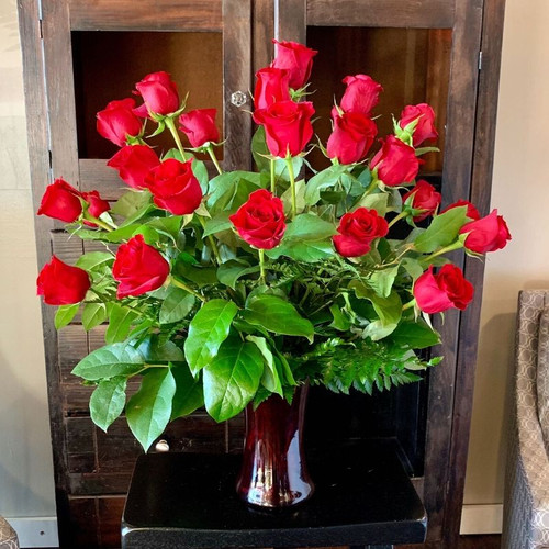 24 Premium Red Rose Bouquet