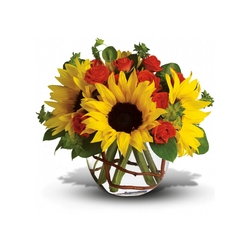 Whoever receives this stunning bouquet is sure to be bowled over by its bold beauty! It's big on fun and big on flowers.