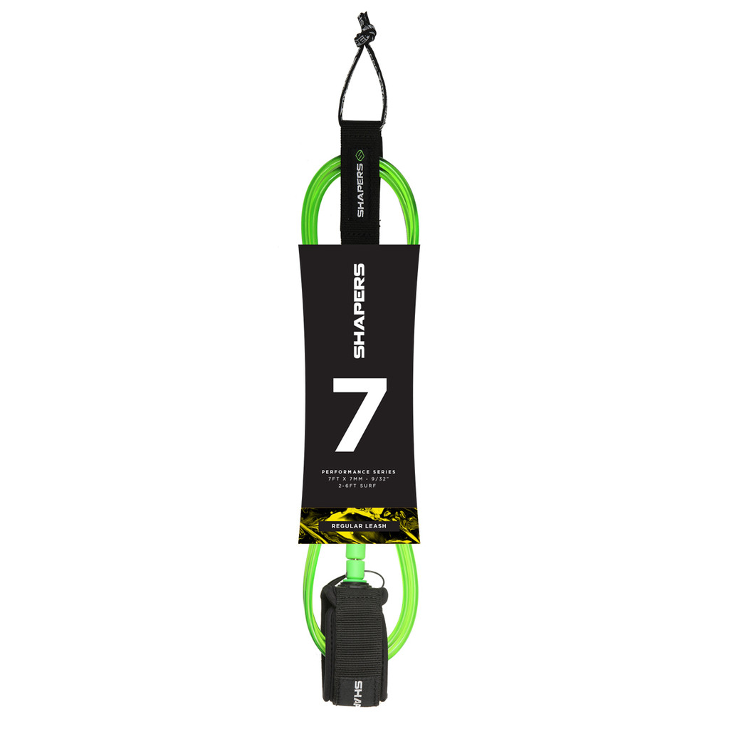 7ft Regular Leash - Green