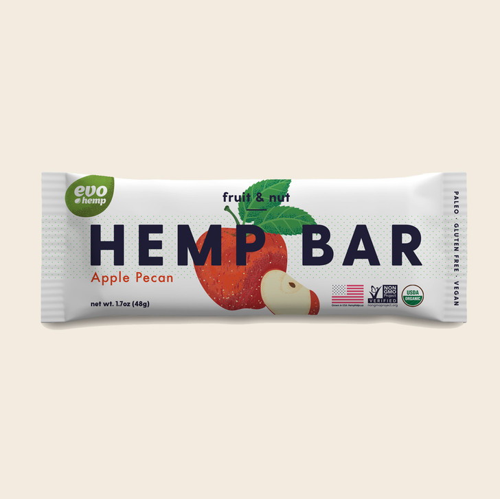 Apple Pecan Hemp Bars