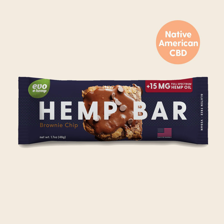 Brownie Chip CBD Bars
