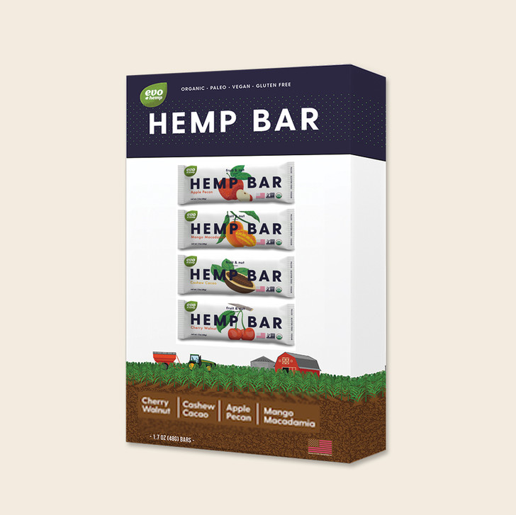 Fruit & Nut Hemp Bars Variety