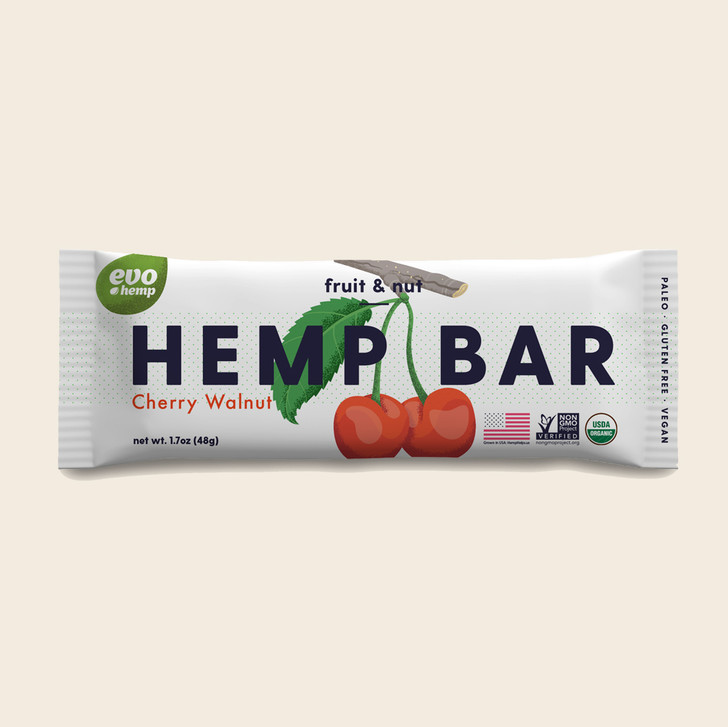 Cherry Walnut Hemp Bars