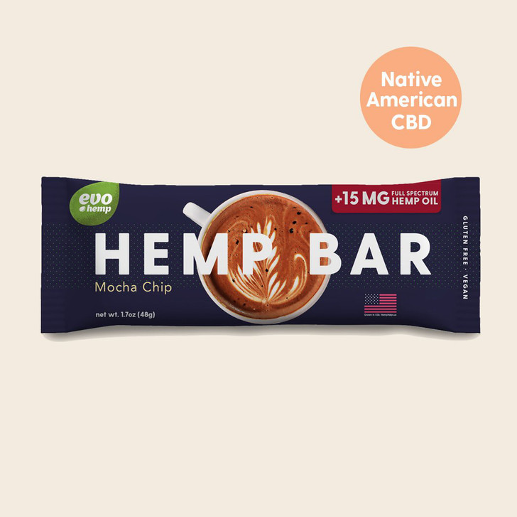 Mocha Chip CBD Bars
