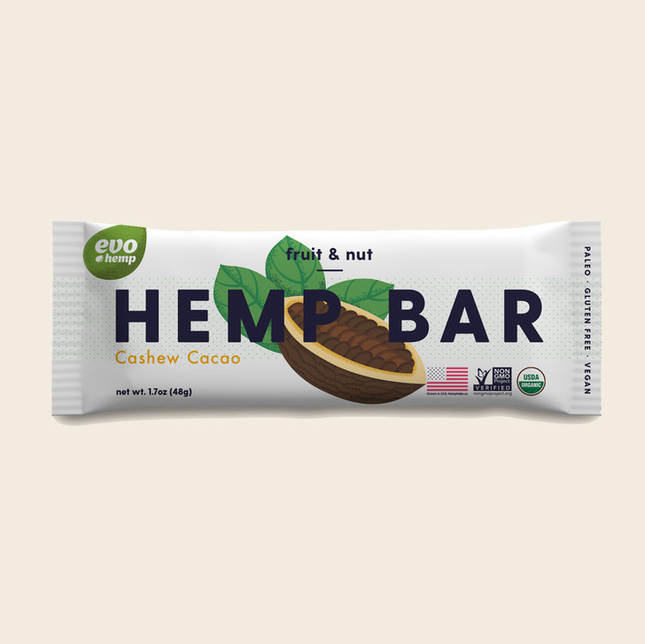 Cashew Cacao Hemp Bars