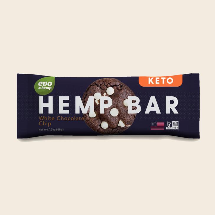 White Chocolate Chip Keto Bars