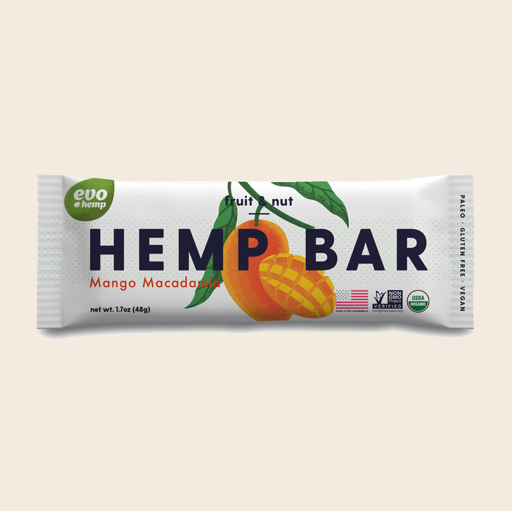 Mango Macadamia Hemp Bars
