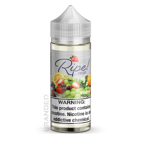 Ripe Fruit features a blend of zesty oranges, succulent strawberries, sweet ripe cherries and juicy grapes, with tropical notes to round out the flavor. Perfectly balanced, for refreshingly delicious experience!  Available in 100ML.