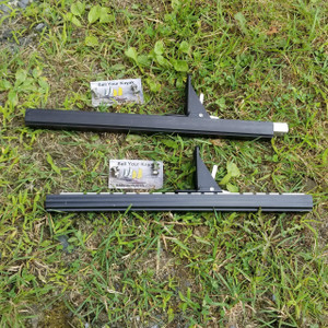 Rudder Slide and foot Brace kit