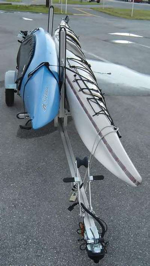 Trailex 2 kayak Carrier Kit