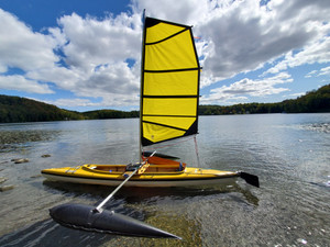 1976 Komerad  TS with gold black 36 HP sail