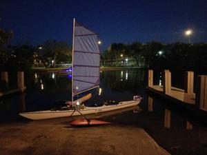 "18'6"" Eskimo with a 36' BSD Sail RIg"