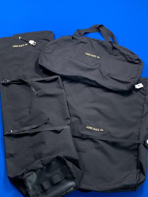 Three Long Haul Travel Bags