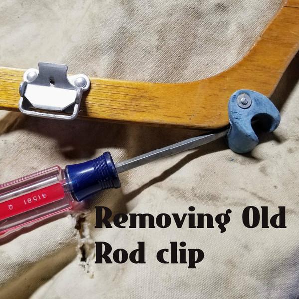 Folding Kayak  Rod Holder