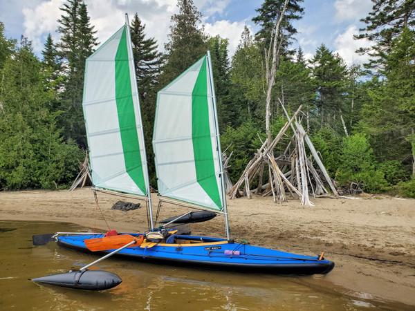 32 and 24 BSD Schooner sail kit