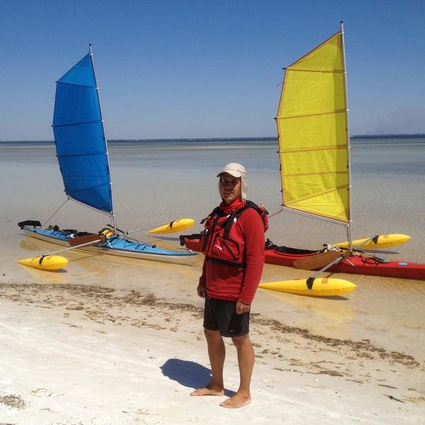 36'  Kayak Sailing  Rig