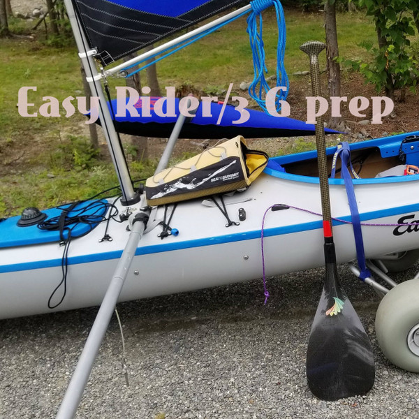 36'  Kayak Sailing  Rig