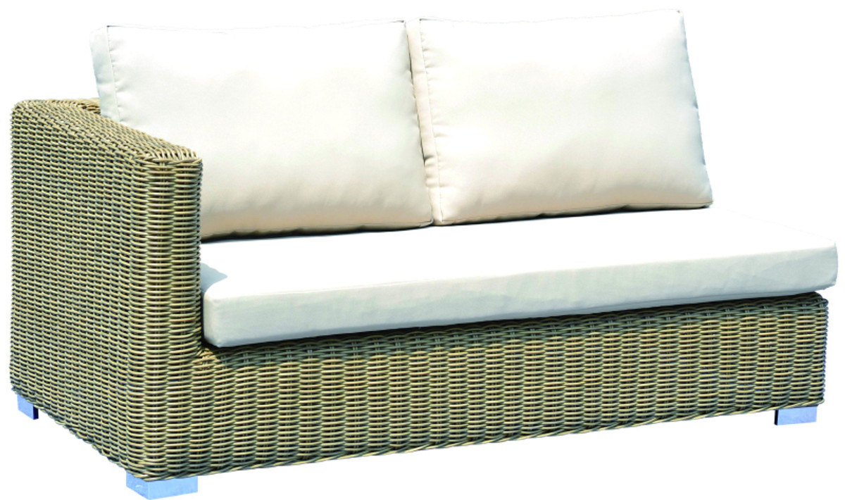outdoor modular sofa lounge set , textilene , rattan wicker , Andes