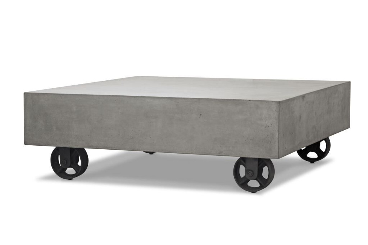 Soho Lightweight Concrete Outdoor Coffee Table Poynters