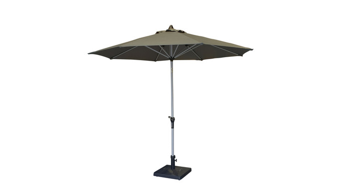 Milan outdoor umbrella in normal position