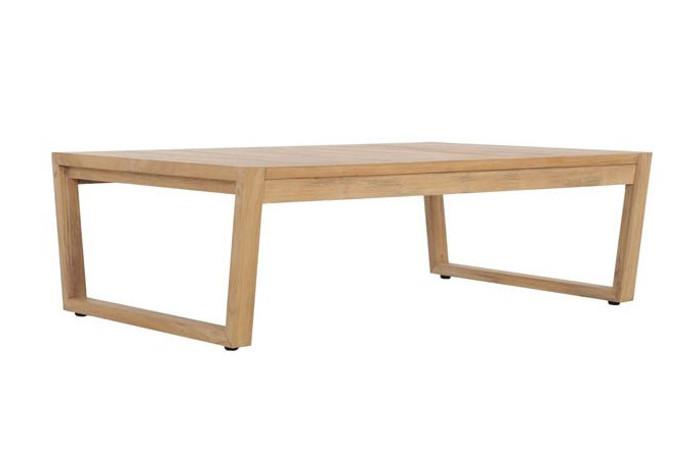Devon Kisbee outdoor teak coffee table