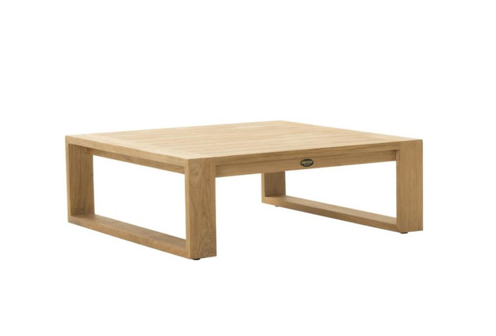 Devon Milford outdoor teak coffee table