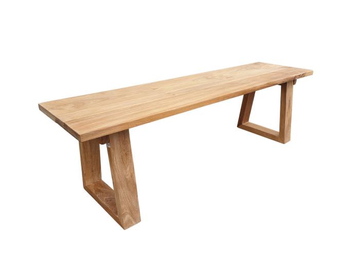 Joseph teak outdoor bench seat. 1.5m