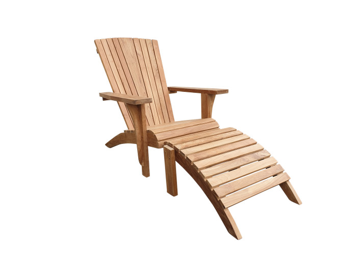 Cape Cod outdoor teak lounge chair