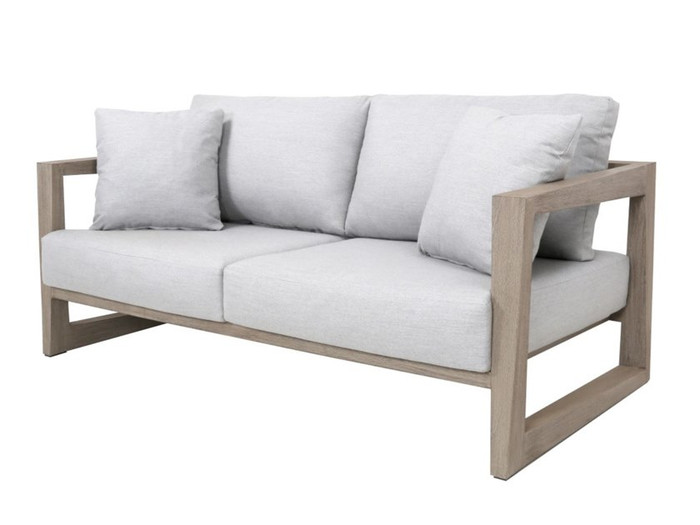 Skaal outdoor 2.5 person sofa by Les Jardins. Scatter cushions available separately.